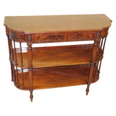 Rare 19th Century Regency Mahogany Console Table