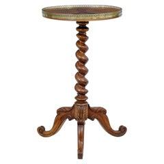 Rare 19th Century Specimen Wood Occasional Table