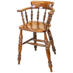 Rare 19th Century Tavern, or Clerks, Chair