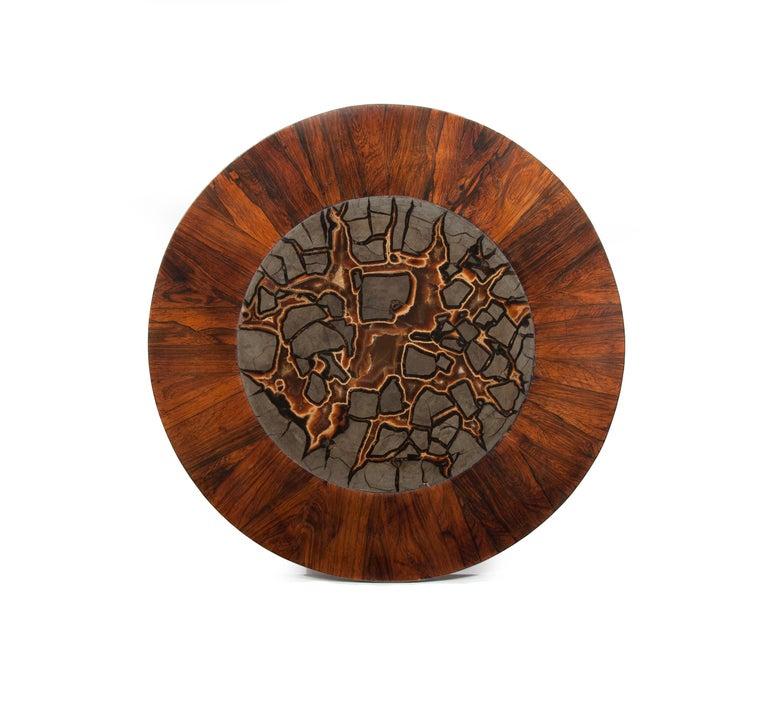 Rare 19th Century William IV Turtle Stone Marble Top Specimen Table For Sale 4