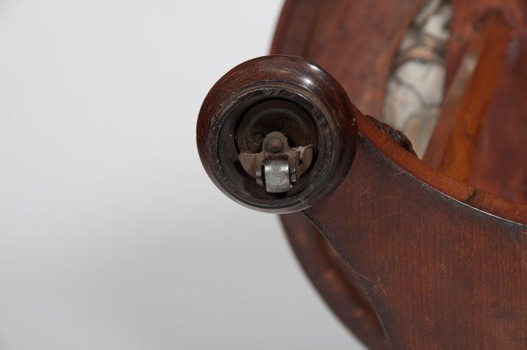 Rare 19th Century William IV Turtle Stone Marble Top Specimen Table For Sale 5