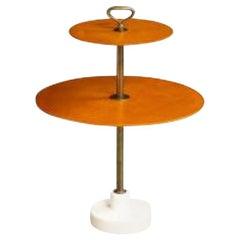 Rare 2-Tier Side Table by Corrado Corradi Dell 'Acqua & Ignazio Gardella