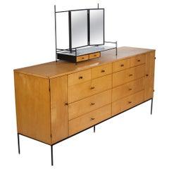 Rare 20-Drawer Dresser by Paul McCobb for Planner Group in Natural