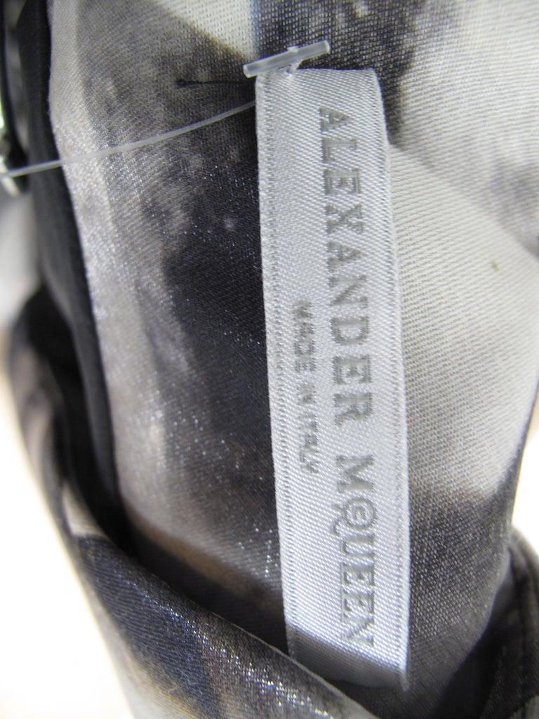 Rare 2009 Alexander McQueen Crystal Skeleton Dress  For Sale 1