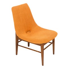 Rare 20th Century Orange Shell Chair, H.Lachert, 1960s