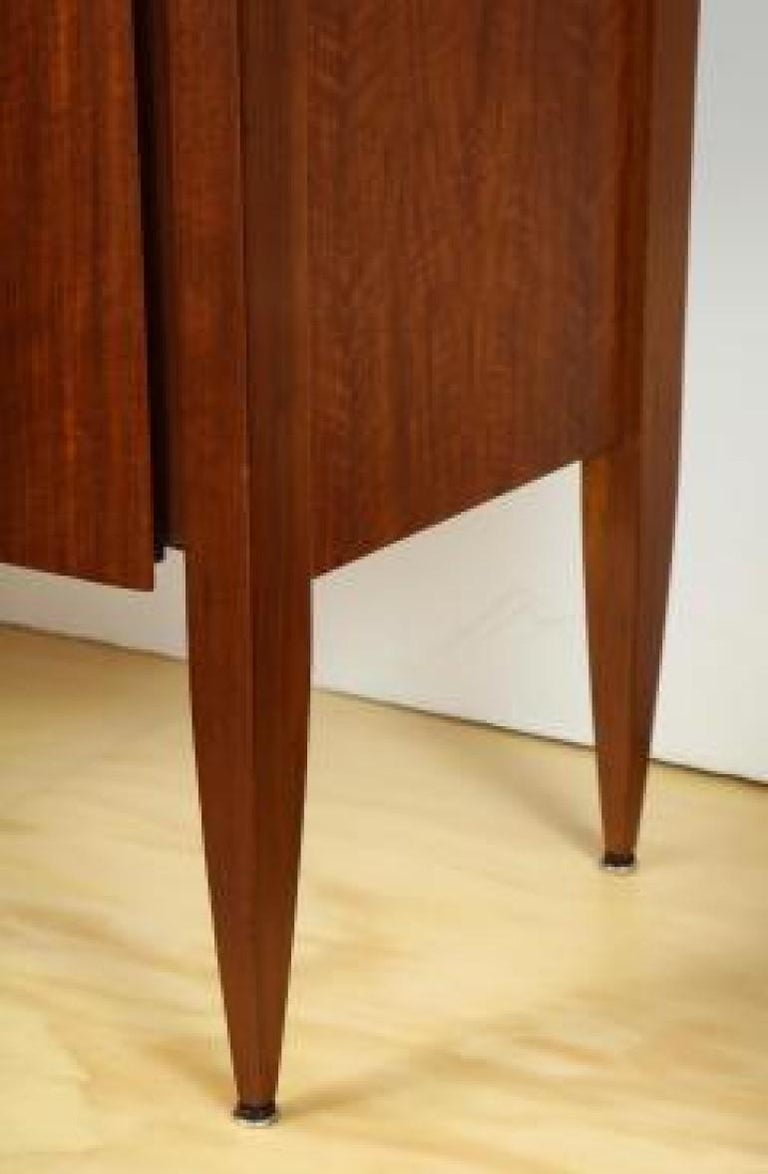 Mid-Century Modern Rare 3-Door Cabinet Designed by Gio Ponti, for M. Singer & Sons For Sale