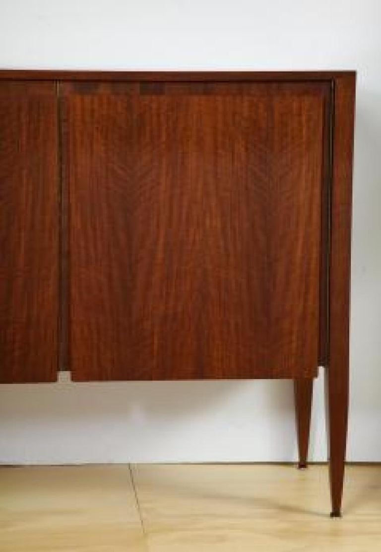 Rare 3-Door Cabinet Designed by Gio Ponti, for M. Singer & Sons In Good Condition For Sale In New York, NY