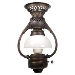 Rare Adams and Westlake Bow Arm Pullman Car Railroad Lamp