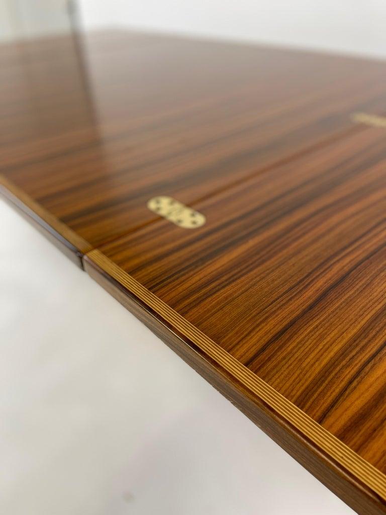 Rare Afra& Tobia Scarpa Convertible Extension Dining Table Artona Series Maxalto For Sale 6