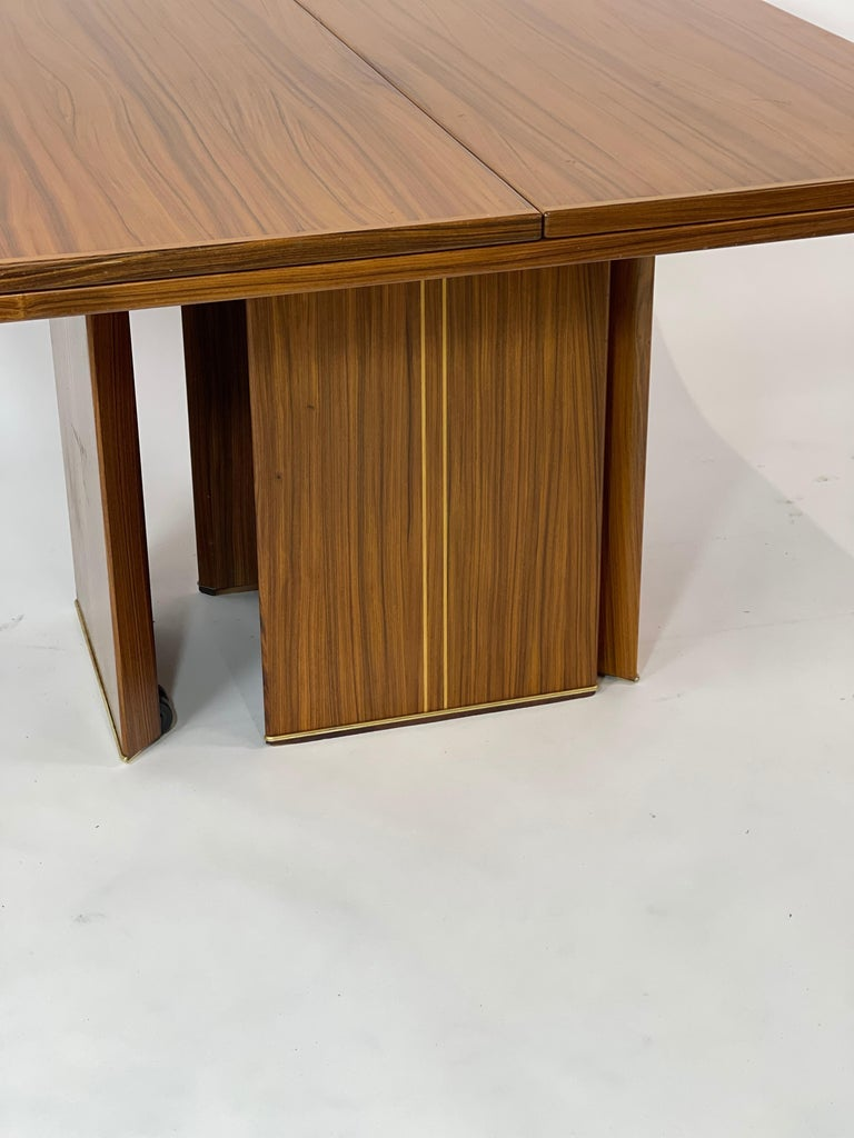 Very rare version from the 'Artona' Series designed by Afra and Tobia Scarpa. Produced by Maxalto. 1970s. In great original condition. The Artona line by the Scarpa duo was the first line produced by Maxalto, the specialist division of B&B Italia