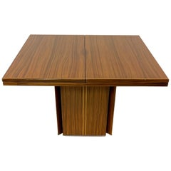 Rare Afra& Tobia Scarpa Convertible Extension Dining Table Artona Series Maxalto