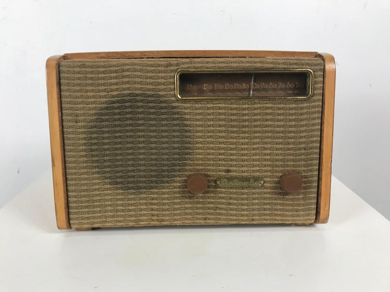 Mid-Century Modern Rare Alexander Girard Detrola Radio, circa 1946, Modernist For Sale