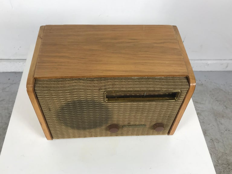 American Rare Alexander Girard Detrola Radio, circa 1946, Modernist For Sale