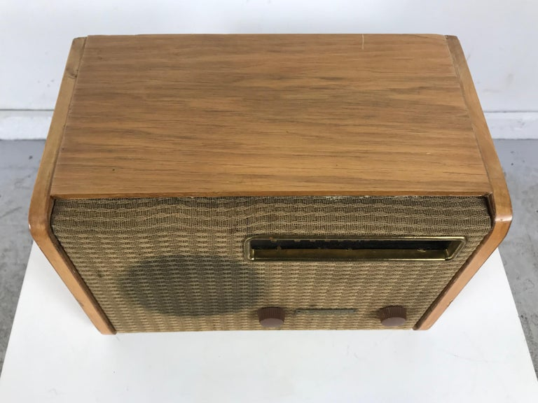 Mid-20th Century Rare Alexander Girard Detrola Radio, circa 1946, Modernist For Sale