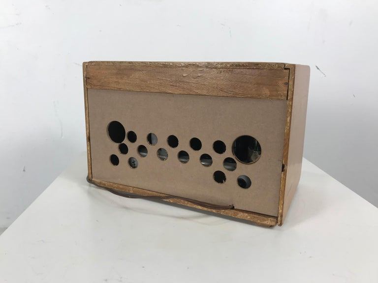 Brass Rare Alexander Girard Detrola Radio, circa 1946, Modernist For Sale