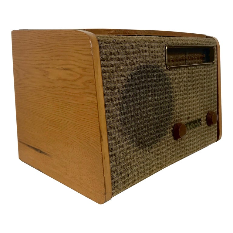 Rare Alexander Girard Detrola Radio, circa 1946, Modernist For Sale
