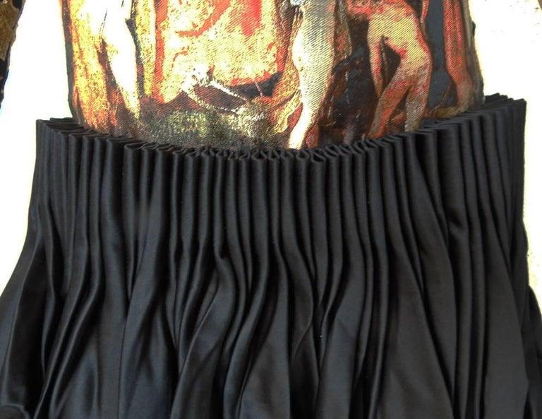 Alexander McQueen Angels & Demons Collection Hieronymus Bosch Evening Dress For Sale 2