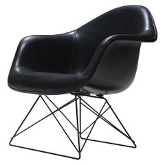 Rare All Black Charles and Ray Eames Cats and Cradle Armchair by Herman Miller