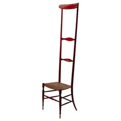 Rare Altissima Campanino Chair by Guido Chiappe