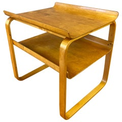 Rare Alvar Aalto 75 Side Table for the Sanatorium, Paimio, Finland