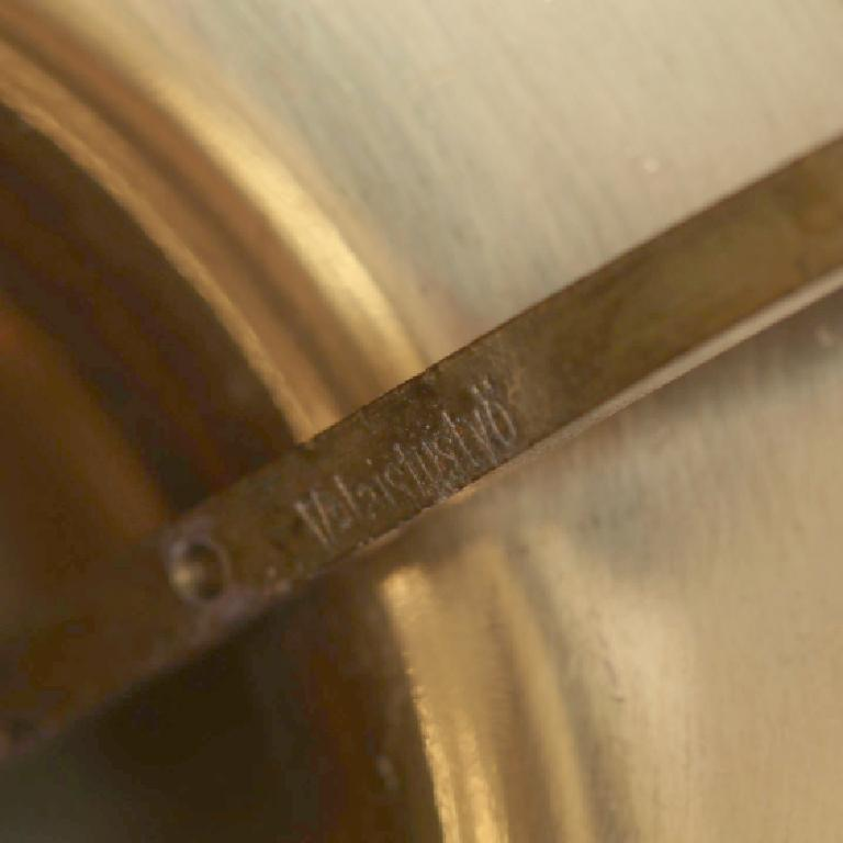 20th Century Rare Alvar Aalto Adjustable Wall Lamp in Brass  For Sale