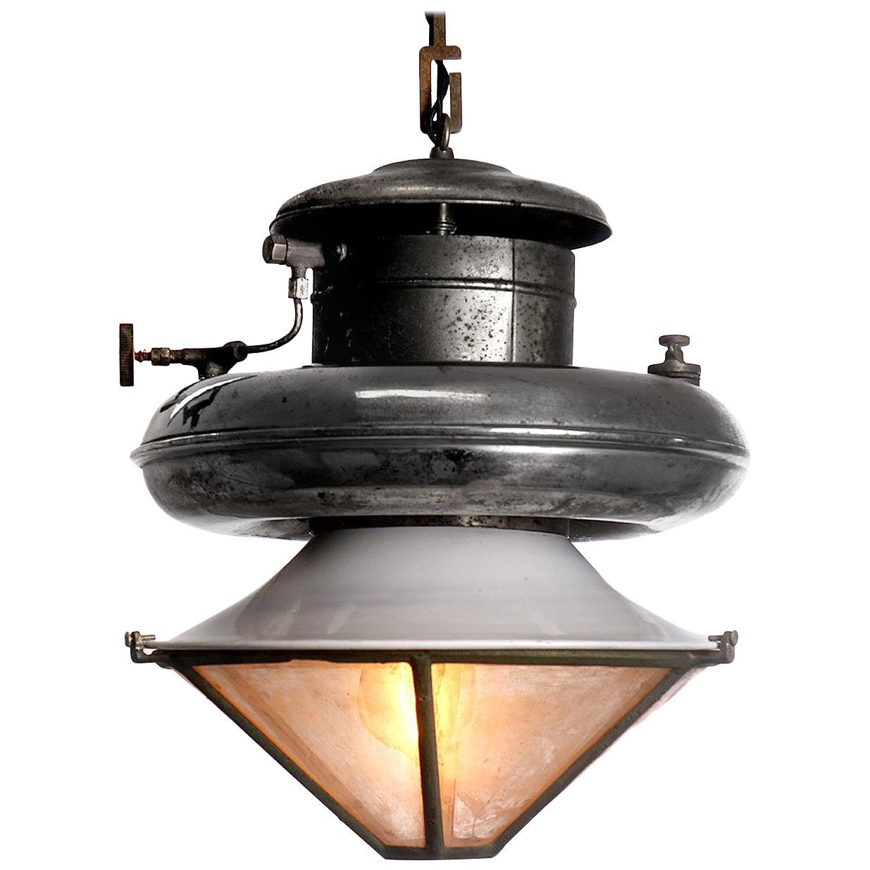 Rare American Gas Machine #777 Circus Lamp
