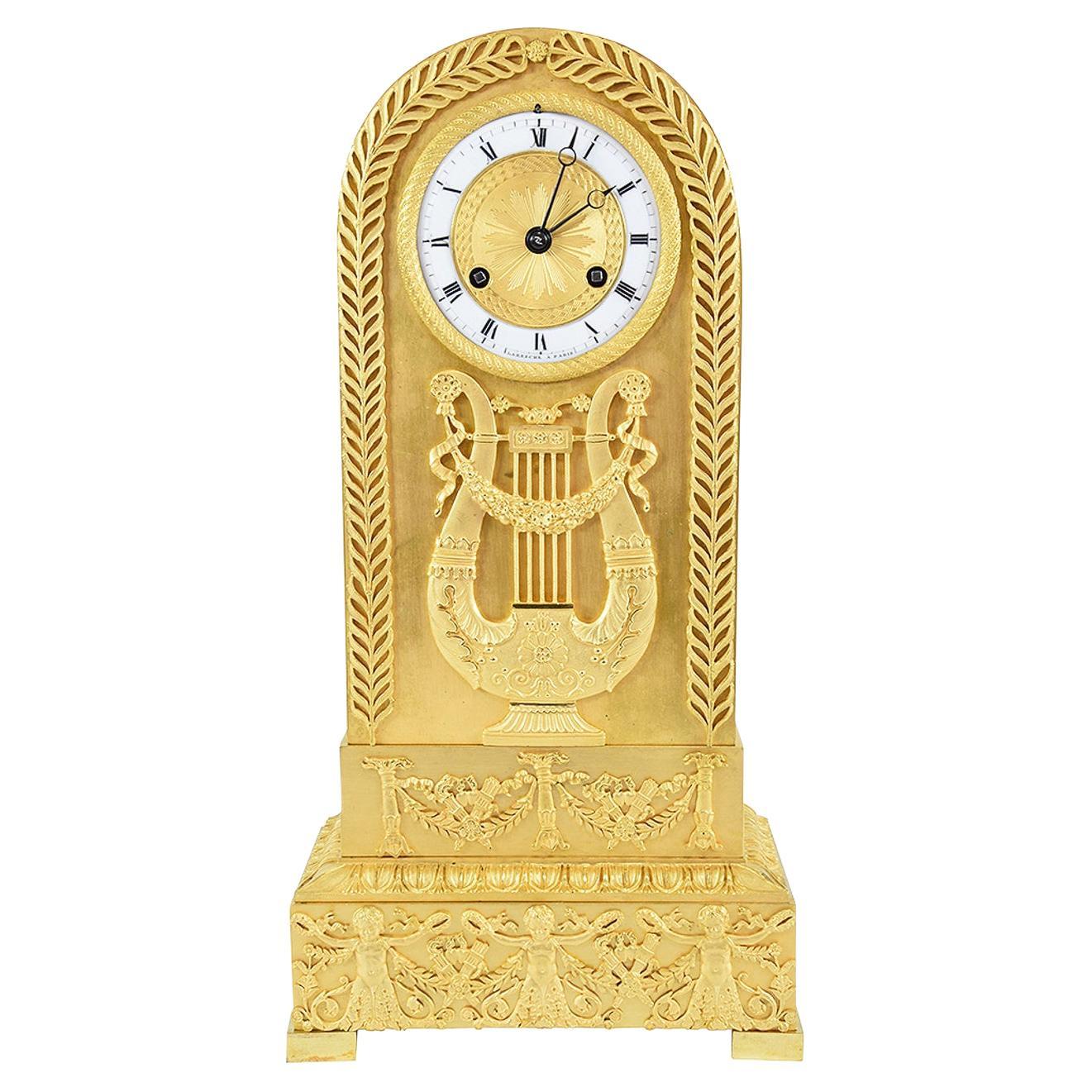 Rare and Beautiful Charles X Period Clock