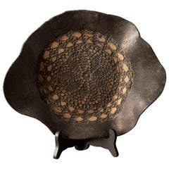 Rare and Carved Decorative Plate