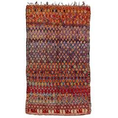 Rare and Early Beni Mguild Carpet