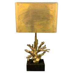 Rare and Early Maison Charles Corail Table Lamp