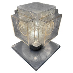 Rare and Early Production Table Light by Poliarte