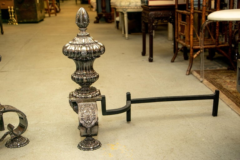 Rare and Exceptional Edward F. Caldwell & Co. Baroque Style Silvered Bronze Andi For Sale 4