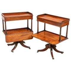 Rare and Exceptional Pair of William IV Side Tables, circa 1830-1850
