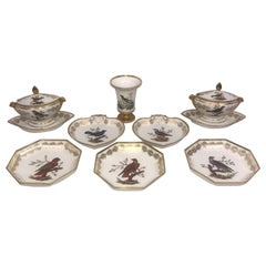 Rare and Important Group of Old Paris Porcelain by Nast Porcelain