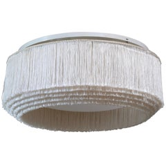 Rare and Large Hans-Agne Jakobsson Fringes Ceiling Lamp Model T615, 1960s