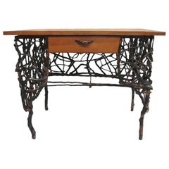 Rare and Unique Modern Craftsman / Adirondack Twig Writing Desk