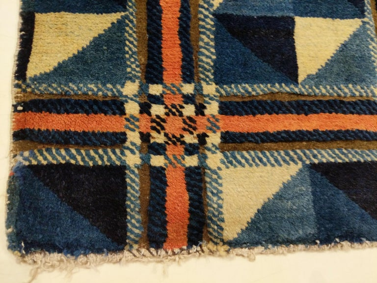 Rare and Unusual Art Deco Chinese Rug For Sale 7