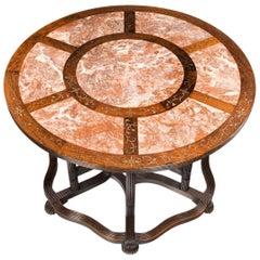 Rare Anglo-Chinese Hardwood Picnic Table