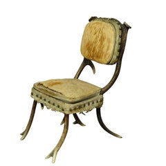 Rare Antique Antler Chair Mid-19th Century