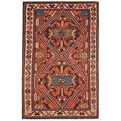 Rare Antique Caucasian Kilim Rug