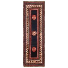 Rare Antique Caucasian Talish Runner Rug