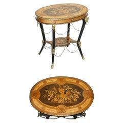 Rare Antique French Gilt Bronze Occasional Table Auguste Maximilien Delafontaine