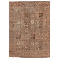 Rare Antique Persian Tabriz Carpet, circa 1900s