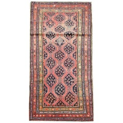 Rare Antique Rug Caucasian Rug Handmade Carpet Oriental Rugs for Sale
