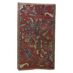 Rare Antique Sultanabad Sampler Rug, Persia