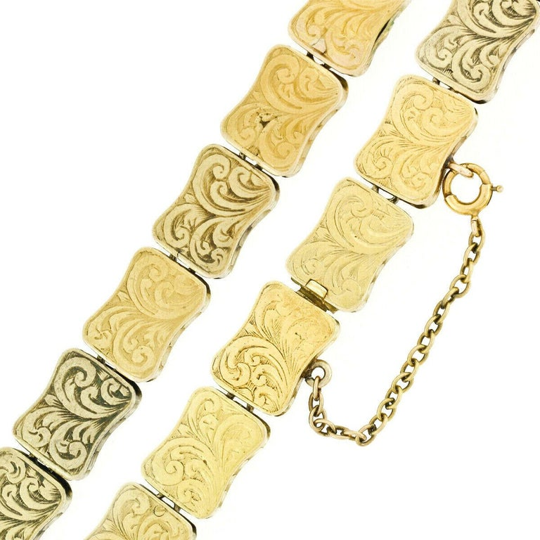 Rare Antique Victorian 18k Gold Cabochon Garnet Mourning Pendant Choker Necklace For Sale 5