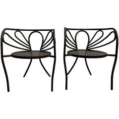 Rare Armchairs by Walter Coons for Clark & Burchfield