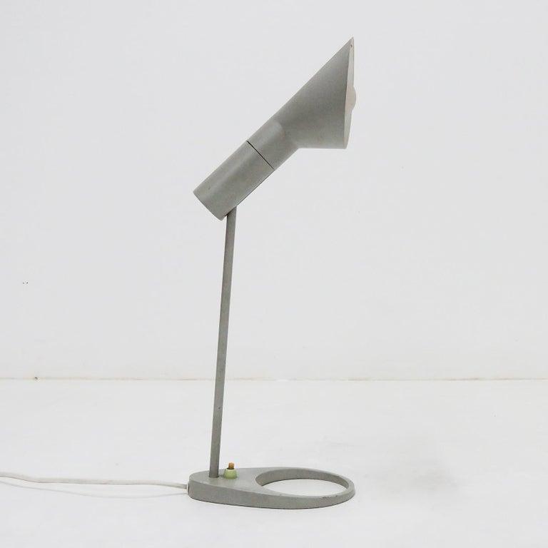 Scandinavian Modern Rare Arne Jacobsen 'AJ' Desk Lamp, 1957 For Sale