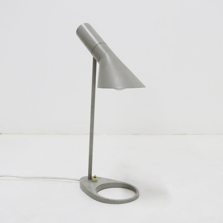 Swedish Rare Arne Jacobsen 'AJ' Desk Lamp, 1957 For Sale