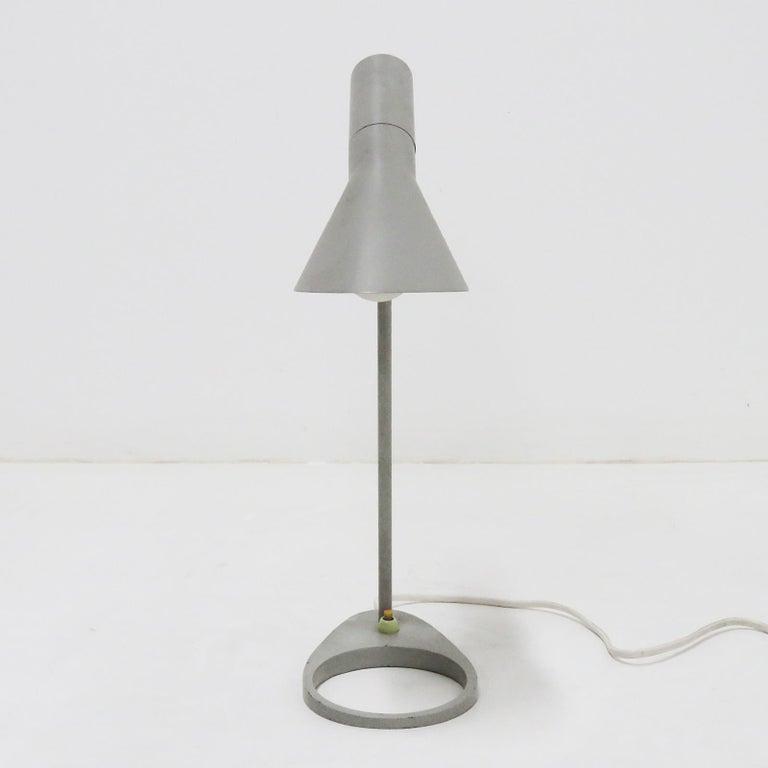 Enameled Rare Arne Jacobsen 'AJ' Desk Lamp, 1957 For Sale